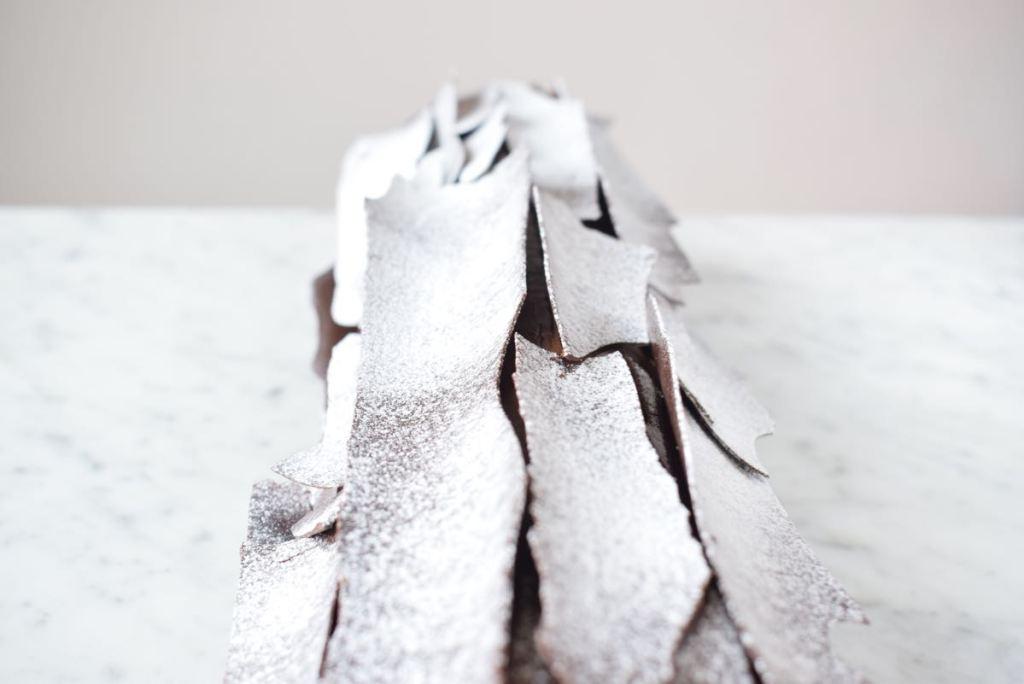 kerst Bûche met chocolade, frambozen en pistache - Gwenn's Bakery