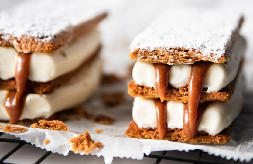Mille-feuille salted caramel - Gwenn's Bakery