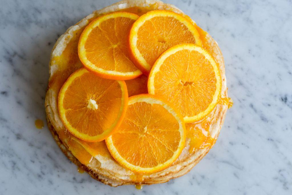Crêpe Suzette taart - Gwenn's Bakery
