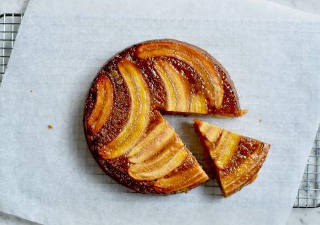 Bananen Tarte Tatin - Gwenn's Bakery