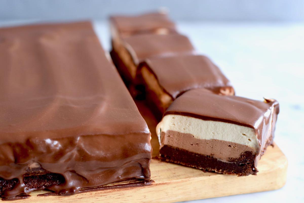 Chocoladecake met koffiemascarpone