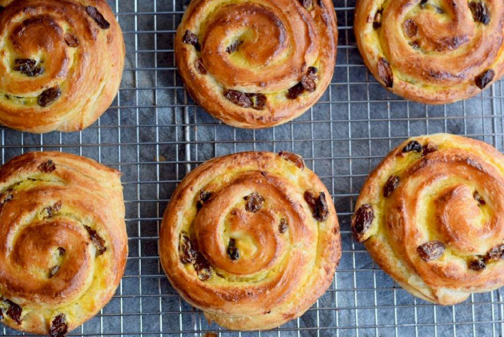 Pains aux raisins (koffiebroodjes) - Gwenn's Bakery