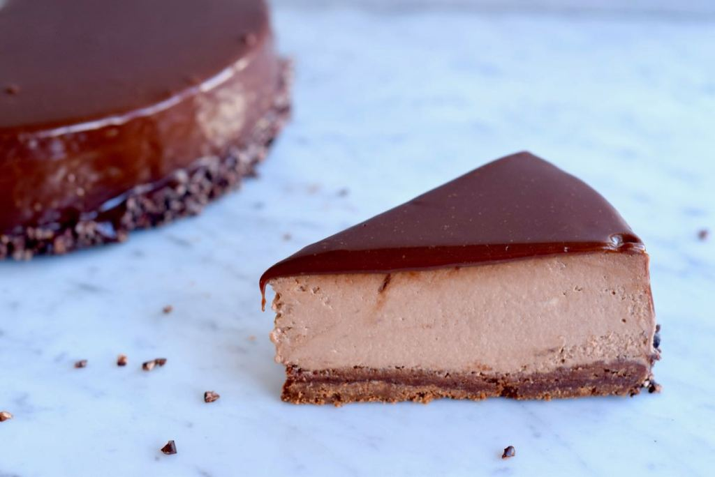 Nutella cheesecake - Gwenn's Bakery