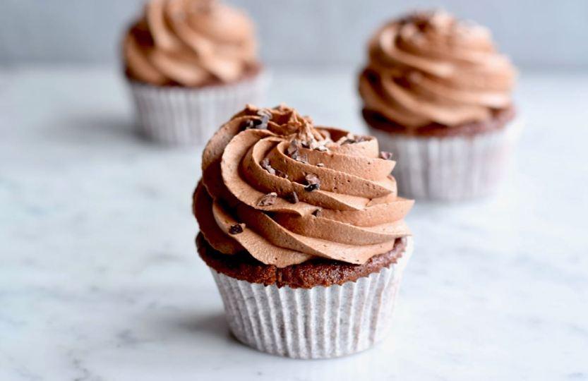 Chocolade cupcakes - Gwenn's Bakery