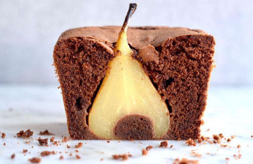 Chocoladecake met peren - Gwenn's Bakery