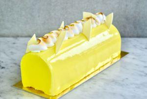 Kerstbûche citroen meringue (beste kerstrecepten) - Gwenn's Bakery