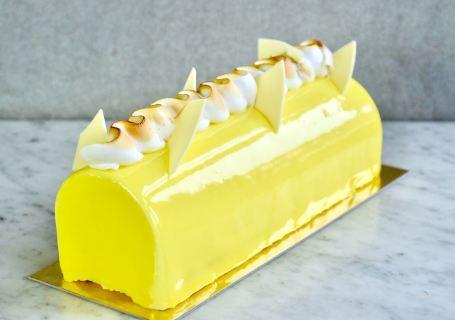 Kerstbûche citroen meringue - Gwenn's Bakery