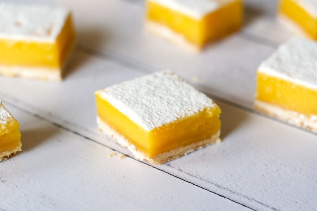 Lemon Bars - Gwenn's Bakery