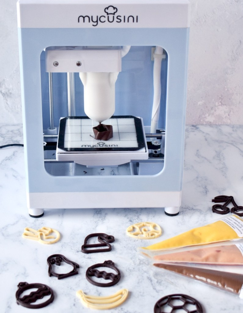Mycusini Chocolade 3D printer - Review - Gwenn's Bakery