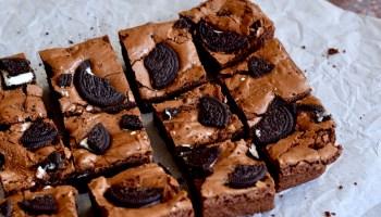 Oreo Brownies - Gwenn's Bakery