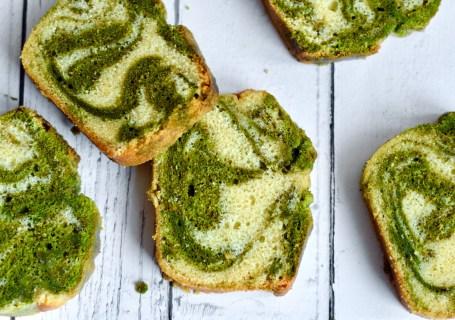 Matcha marmercake - Gwenn's Bakery