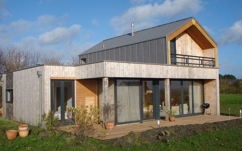 Maison individuelle architecture rennes