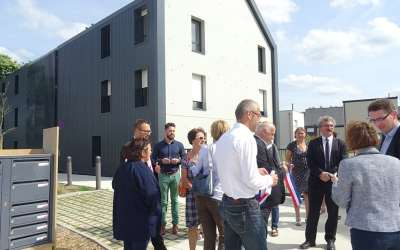 Inauguration 16 logements à Corps-Nuds