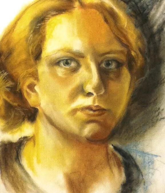 Self Portrait, Pastels