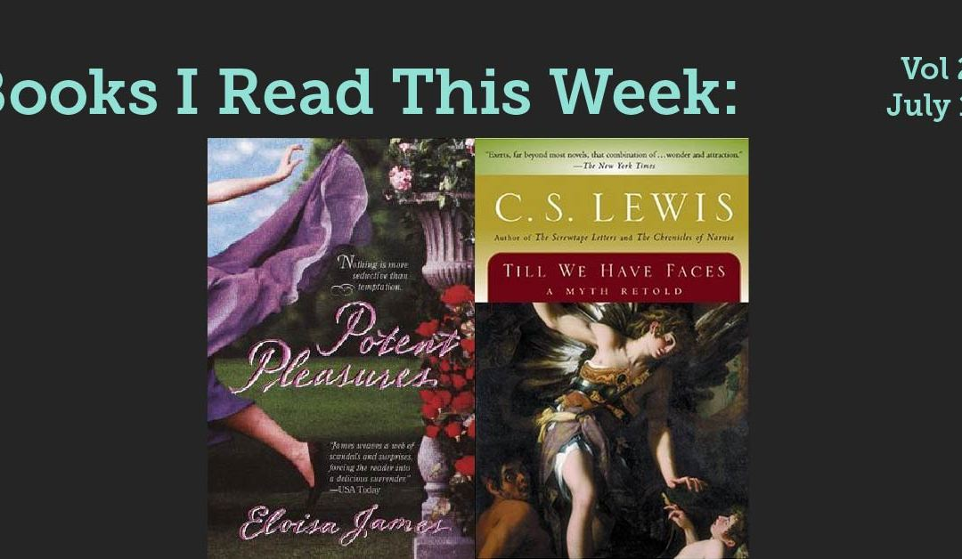 Books I read this week: Vol 27, July 15