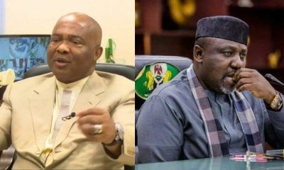 Okorocha, Uzodinma Fight