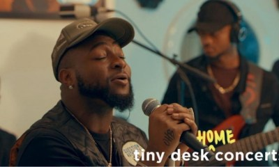 Davido shows off MTV, BET Awards as he performs on NPR Tiny Desk Concert