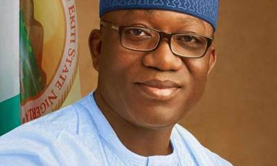 Fayemi gifts physically-challenged woman N150,000 to purchase wheelchair in Ekiti