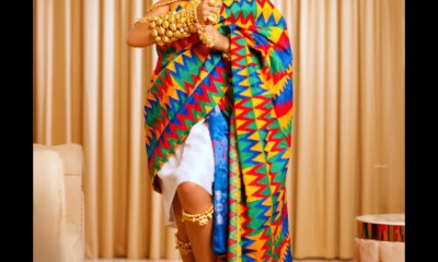 Nengi Celebrates Ghana Independence With Stunning Traditional Ghanaian Attire