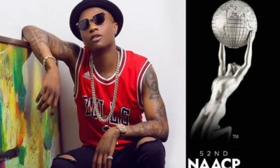 Reactions As Wizkid Wins NAACP Image Award