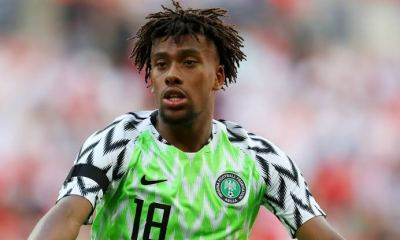 Alex Iwobi Tests Positive For COVID-19