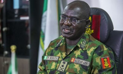 Reactions As Money For Arms To Fight Insurgency Missing Under Buratai, Others
