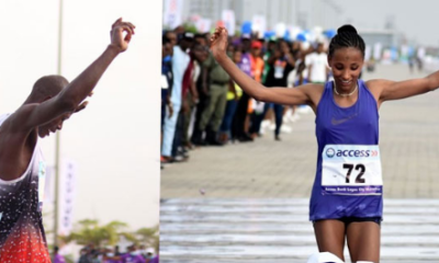 Nigerians Missing As Kenya, Ethiopian Win Lagos City Marathon, Receive $3,000 Each