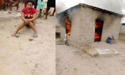 Lady Sets Boyfriend's House Ablaze In Makurdi, Benue State