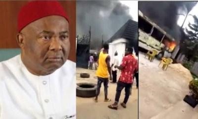 Gunmen Attack Gov. Uzodinma's House, Kill Security Guards