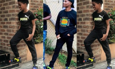 """Tell Dad I Rock His Kicks Better"" – Wizkid's Son Boluwatife"