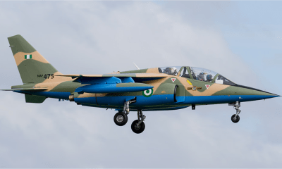 Boko Harm Claims Responsibility For Shooting Down OF Missing NAF Alpha Jet