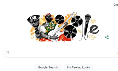 Google Celebrates Highlife Musician Oliver De Coque on 74th Posthumous Birthday