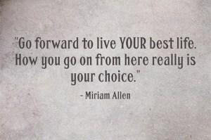 Miriam Allen quote