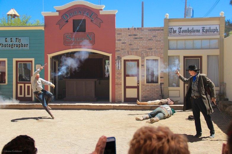 Tombstone OK Corral Shootout