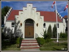 This way to Ansgar Lutheran Church, Edmonton