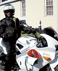 Steve Darrell in Bermuda was a police officer