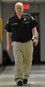 Sheriff of Laurens County Bill Harrell