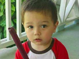 "19-month-old Bounkham ""Bou Bou"" Phonesavanh. Hospitalized for a month after a flashbang grenade exploded in his crib"