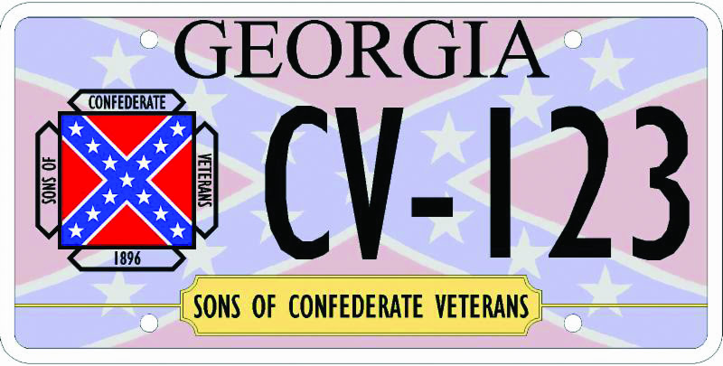 NEW confederate tag