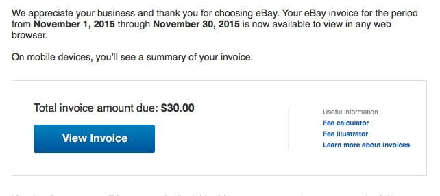 eBay's outrageous 10% final value fees pricing themselves