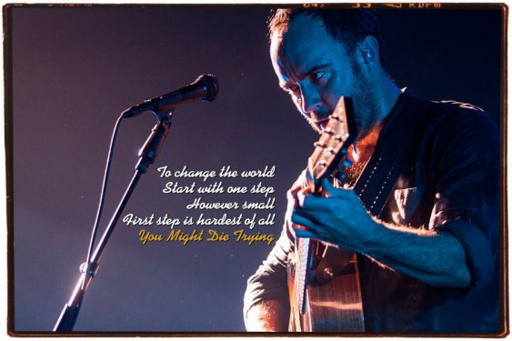 DMB - You Might Die Trying