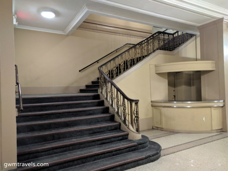 Ballroom Stairwell