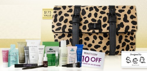 Beauty.com deluxe sample bag by Sea