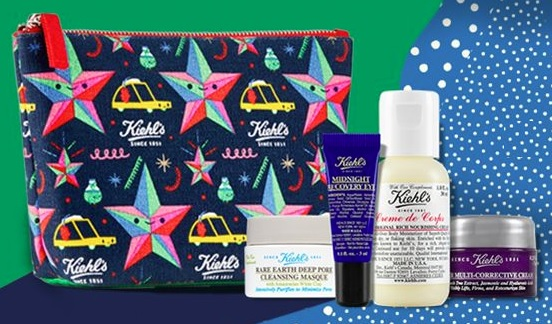 kiehl's black friday gift with purchase
