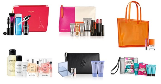 macy's friends and family sale beauty gifts with purchase