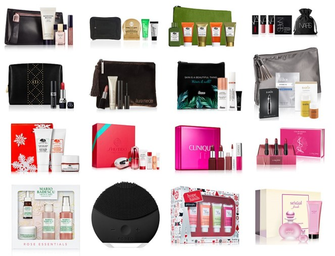 macy's black friday beauty gifts with purchase and beauty sale items