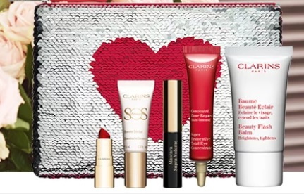 clarins valentine's day gift with purchase