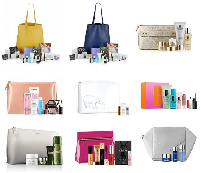 saks gifts with purchase
