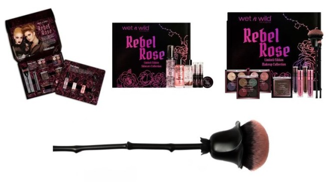 Wet n Wild Rebel Rose Collection Boxes and Blush Brush