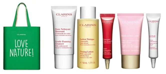 clarins 2019 earth day gift with purchase